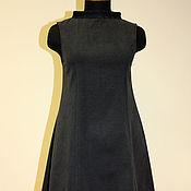 Одежда handmade. Livemaster - original item Denim dress for a future mom. Handmade.