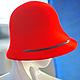 """Шляпы ручной работы. Фетровая шляпа """"Лесли"""". Лилия Гуреева. Ярмарка Мастеров. Шляпка женская, шляпка, леди"""