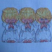 Для дома и интерьера ручной работы. Ярмарка Мастеров - ручная работа Три ангелочка. Handmade.