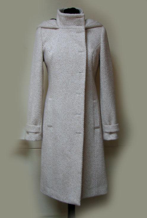 Верхняя одежда ручной работы. Ярмарка Мастеров - ручная работа. Купить Зимнее пальто с капюшоном. Handmade. Зимнее пальто