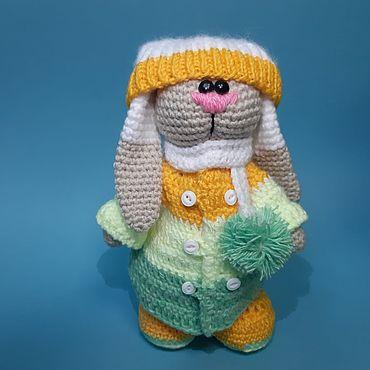 Куклы и игрушки ручной работы. Ярмарка Мастеров - ручная работа Игрушки: Зайка Ося. Handmade.