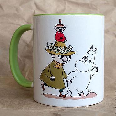 """Посуда ручной работы. Ярмарка Мастеров - ручная работа Чашка """"Снусмумрик"""". Handmade."""