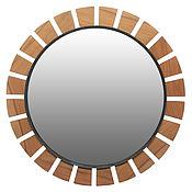 Для дома и интерьера ручной работы. Ярмарка Мастеров - ручная работа Дизайнерское круглое зеркало G2. Handmade.