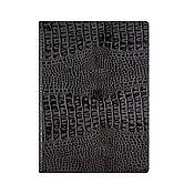 Канцелярские товары handmade. Livemaster - original item Document folder A4 Black Caiman. Handmade.