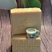 Косметика ручной работы. Ярмарка Мастеров - ручная работа Натуральное молочное мыло.. Handmade.