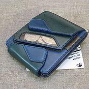 Сумки и аксессуары handmade. Livemaster - original item A durable wallet with a small change of the original design. Sea. Handmade.