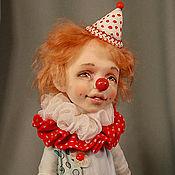 Куклы и игрушки ручной работы. Ярмарка Мастеров - ручная работа Клоун Любимчик Пашка.. Handmade.