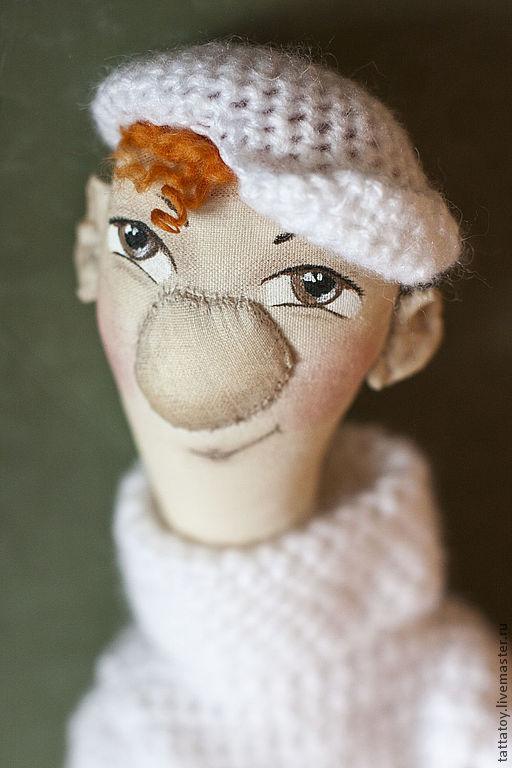Ароматизированные куклы ручной работы. Ярмарка Мастеров - ручная работа. Купить Стёпка (кукла текстильная). Handmade. Кукла ручной работы
