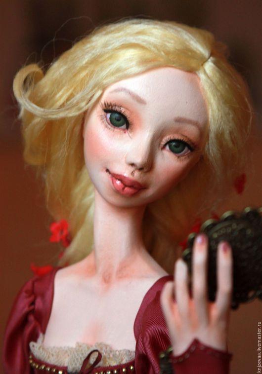 Коллекционные куклы ручной работы. Ярмарка Мастеров - ручная работа. Купить Рапунцель 2. Handmade. Розовый, шёлк