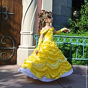 Работы для детей, handmade. Livemaster - original item Fancy dress Princess Belle. New year carnival costume. Handmade.