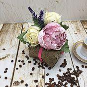 Букеты ручной работы. Ярмарка Мастеров - ручная работа Букет из конфет и чая. Handmade.