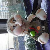 Куклы и игрушки ручной работы. Ярмарка Мастеров - ручная работа Домовой на обережном венике. Handmade.
