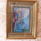 Иконы ручной работы. Ярмарка Мастеров - ручная работа Икона св Архангела Михаила. Handmade.