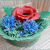 Косметика ручной работы handmade. Livemaster - original item Soap a bouquet of