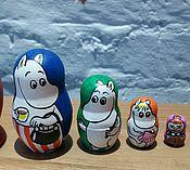 Куклы и игрушки ручной работы. Ярмарка Мастеров - ручная работа Матрешки Мумми-семейство. Handmade.