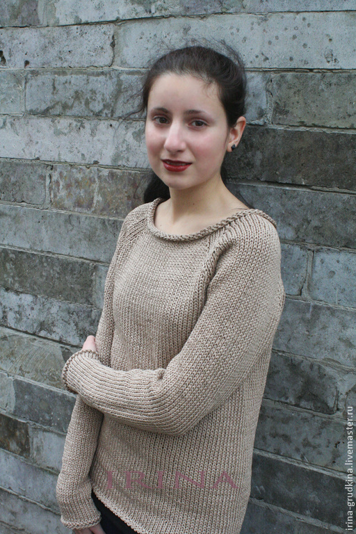 Sweater Gentle beige, Sweaters, St. Petersburg, Фото №1