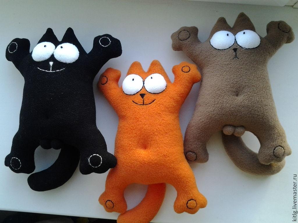 Игрушка своими руками котики