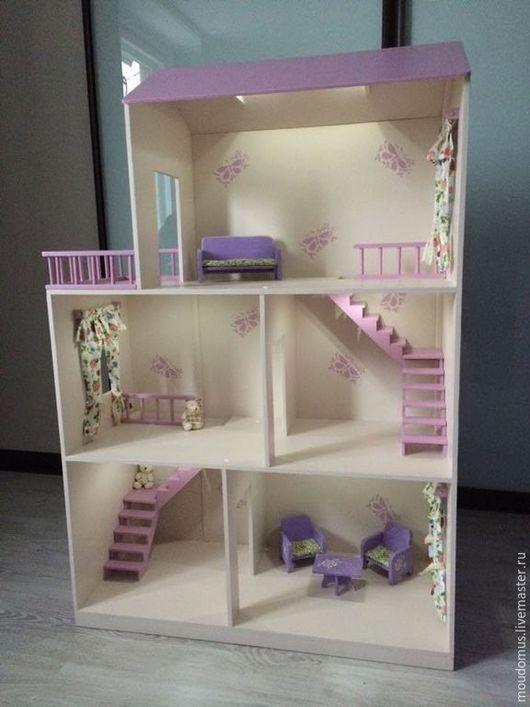 Кукольный дом ручной работы. Ярмарка Мастеров - ручная работа. Купить Кукольный домик. Handmade. Кукольный дом, Дом для кукол