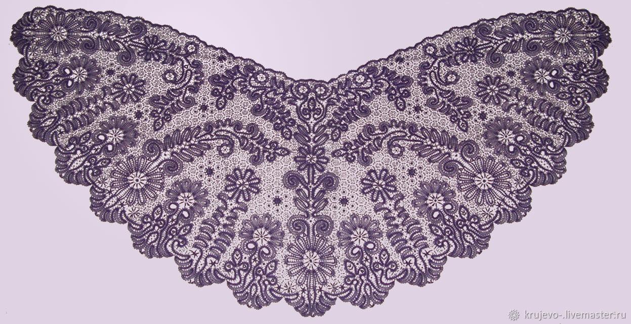 Madame BUTTERFLY lace shawl Vyatka Vologda lace, Shawls, Kirov,  Фото №1
