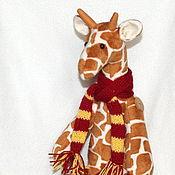 Куклы и игрушки ручной работы. Ярмарка Мастеров - ручная работа Тильда Жираф большой - 50 см. Handmade.