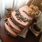 Для дома и интерьера ручной работы. Ярмарка Мастеров - ручная работа Комодик Благородная классика в розовом. Handmade.