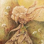 Картины и панно ручной работы. Ярмарка Мастеров - ручная работа У весны зеленое сердце... Картина - принт на холсте.. Handmade.