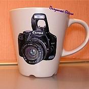 """Посуда ручной работы. Ярмарка Мастеров - ручная работа Чашка """"Любимый фотоаппарат"""". Handmade."""