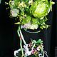 Topiary handmade. Order Topiary 'Shabby rabbit'. Anghelina Kodryan. Livemaster. Pink, topiary tree of happiness, interior arrangement