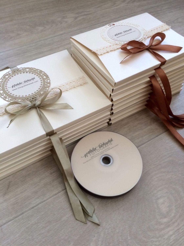 Конверты для дисков фотографий и визиток