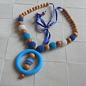 Одежда ручной работы. Ярмарка Мастеров - ручная работа Слингобусы Синева с силиконовым кольцом. Handmade.