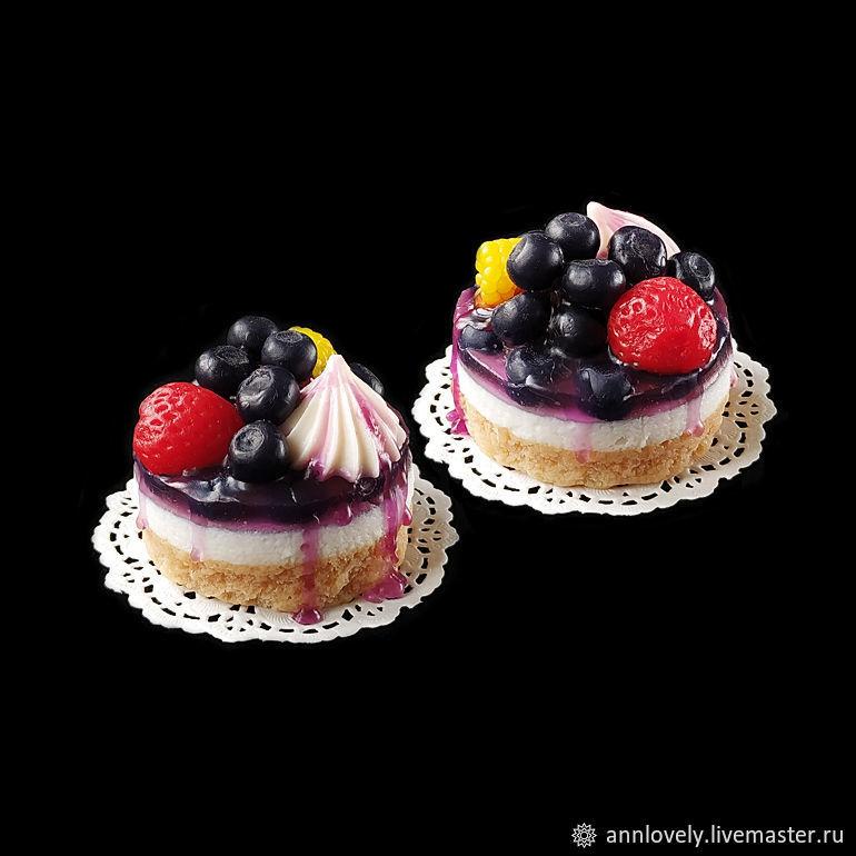 Пирожное ягодное суфле. Мыло сувенирное, Мыло, Москва, Фото №1