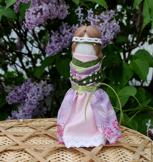 Народные куклы ручной работы. Ярмарка Мастеров - ручная работа. Купить куколка на счастливое замужество. Handmade. Подарок девушке, невеста