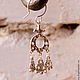 Серьги серебро 925 пробы с подвесками. Также доступны в латуни (500 р.)