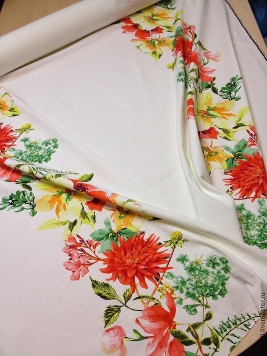 Шитье ручной работы. Ярмарка Мастеров - ручная работа. Купить Ткань джинсовая, арт. Июнь-72. Handmade. Белый, юбка