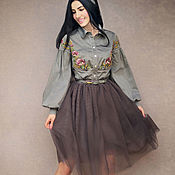 Одежда handmade. Livemaster - original item Elegant suit with a skirt
