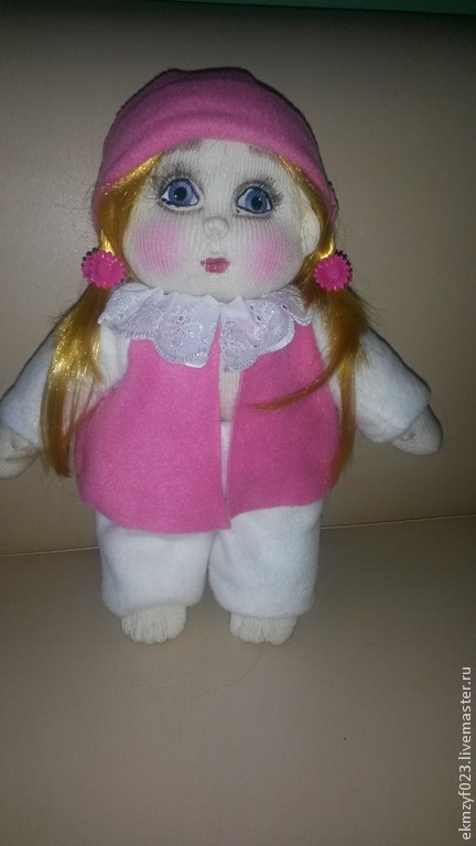"""Человечки ручной работы. Ярмарка Мастеров - ручная работа. Купить кукла """"малышка"""". Handmade. Белый, кукла малышка, игрушка для детей"""