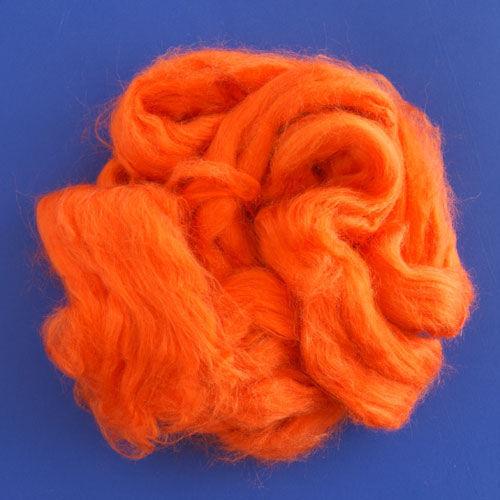 Валяние ручной работы. Ярмарка Мастеров - ручная работа. Купить Шелк для валяния Orange 10 гр.. Handmade. Оранжевый