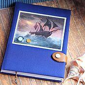 Канцелярские товары handmade. Livemaster - original item Diary Of A Pirate. Handmade.