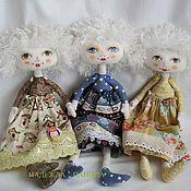 Куклы и игрушки ручной работы. Ярмарка Мастеров - ручная работа Кукла текстильная средняя № 2. Handmade.