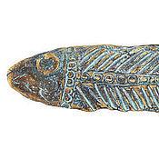 Для дома и интерьера ручной работы. Ярмарка Мастеров - ручная работа Скульптура Рыба. Handmade.
