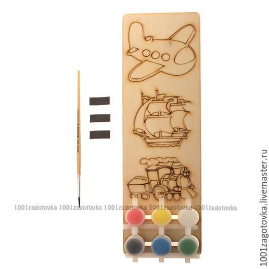 """Развивающие игрушки ручной работы. Ярмарка Мастеров - ручная работа. Купить 2-1.704 Набор заготовок для магнита """"Подарок своими руками"""". Handmade."""