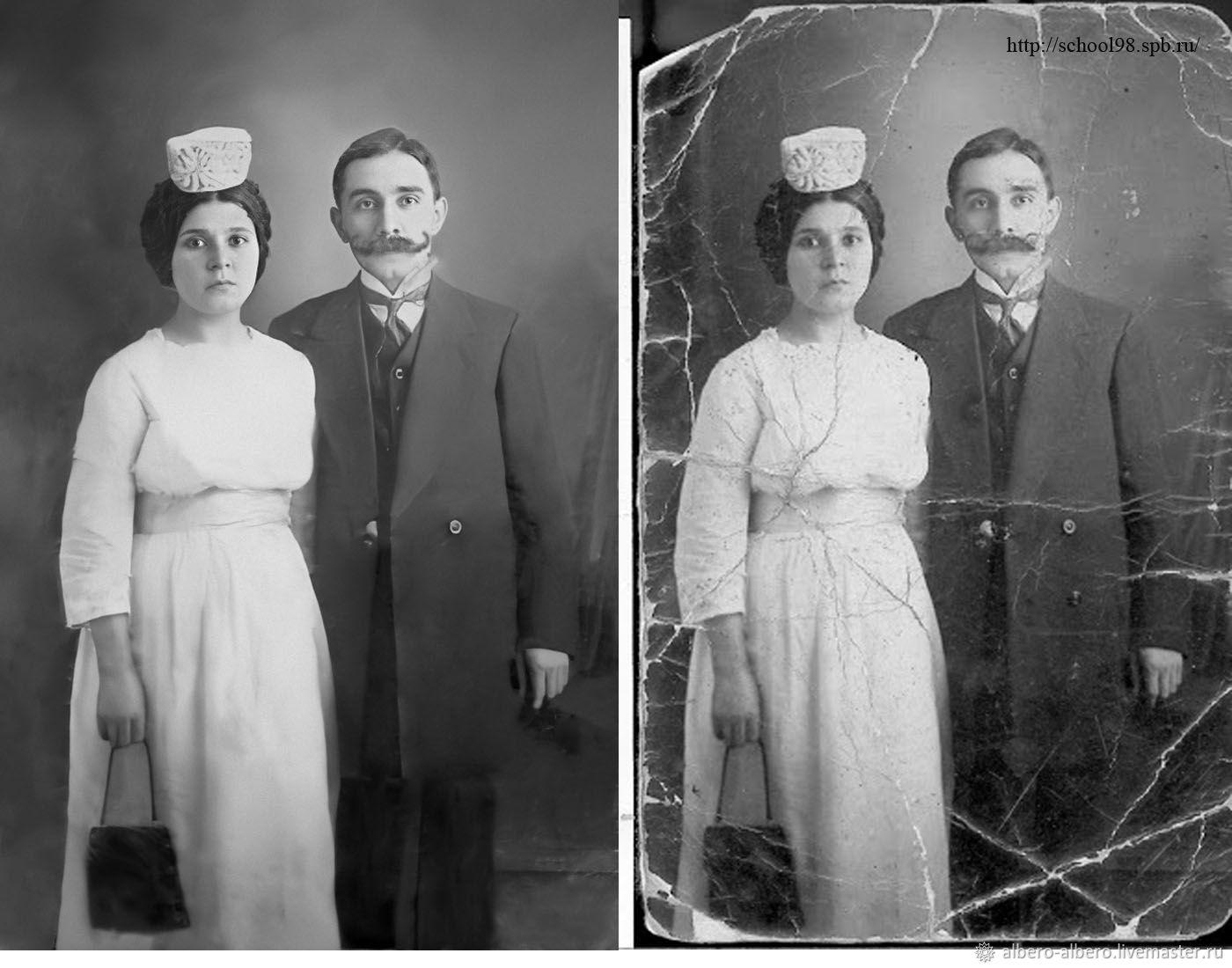 чтобы перевод старых фотографий в цифровые каждого