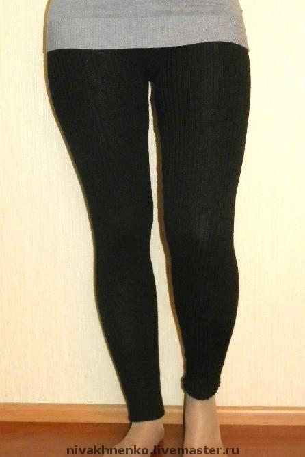 Knitted leggings 'elastic', Pants, Moscow,  Фото №1
