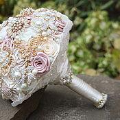Свадебный салон handmade. Livemaster - original item Brooch-Bouquet