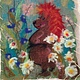 ручной работы. Ярмарка Мастеров - ручная работа. Купить Валяная картина Ежик Трям. Handmade. Ежик, еж, рыжий цвет