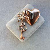 Винтаж handmade. Livemaster - original item Nettie Rosenstein sterling Silver brooch (fur clip) 1940s. Handmade.
