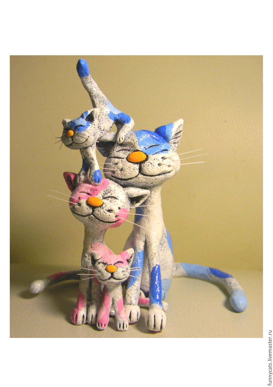 Глиняные коты
