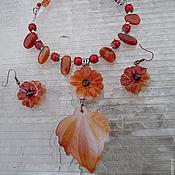 Украшения ручной работы. Ярмарка Мастеров - ручная работа Аленький цветочек. Handmade.