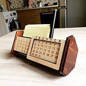 Календари ручной работы. Ярмарка Мастеров - ручная работа Органайзер с вечным календарем. Handmade.