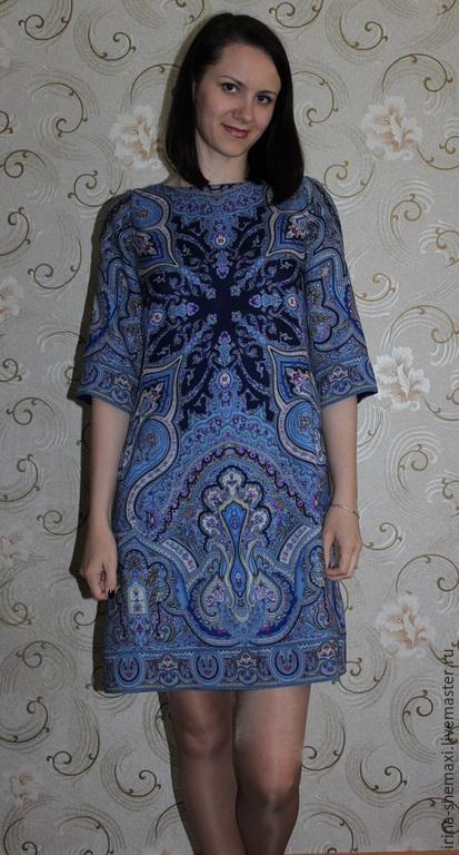 Платья ручной работы. Ярмарка Мастеров - ручная работа. Купить Платье Испанское синее. Handmade. Синий, платье ппп лоскут